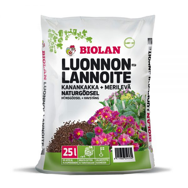 Biolan Luonnonlannoite 25 L