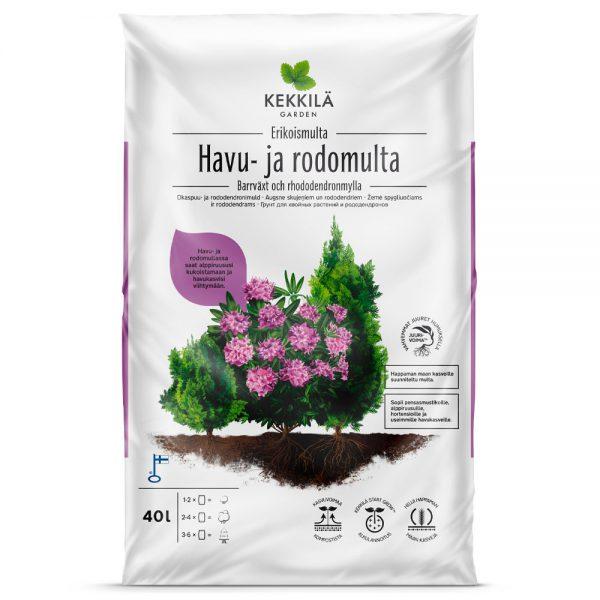 Kekkilä barrväxt- och rhododendronmylla 40 L